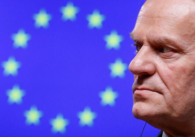 Presidente do Conselho Europeu Donald Tusk