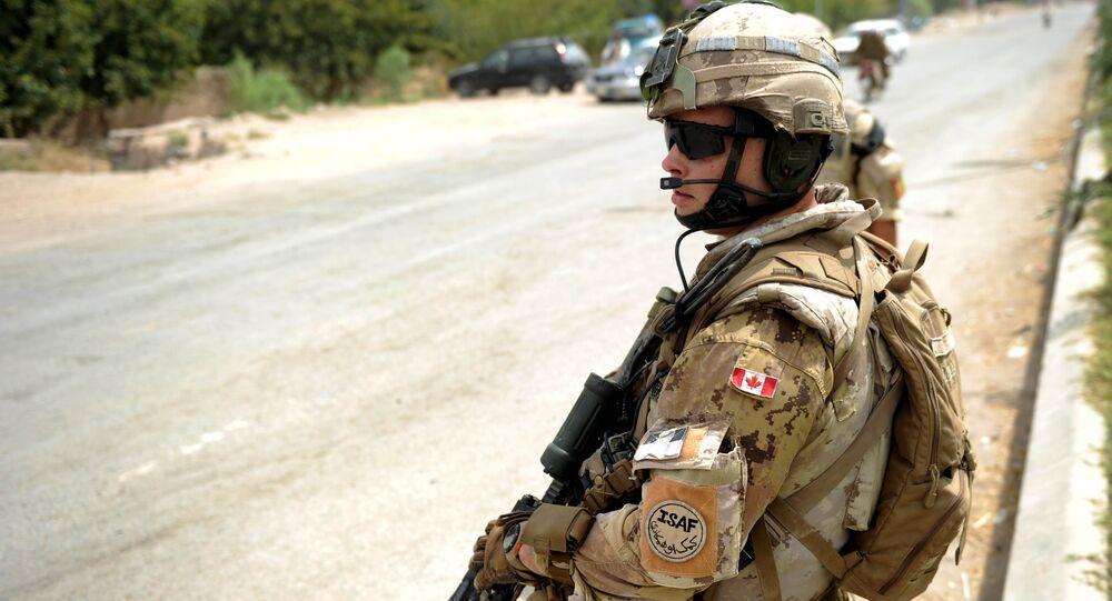 Militar canadense da OTAN