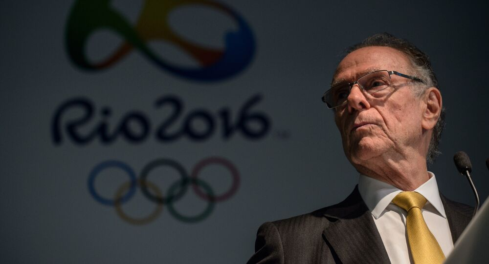 Presidente do Comitê Olímpico Brasileiro (COB), Carlos Arthur Nuzman