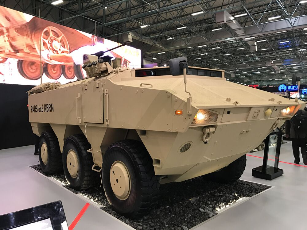 PARS, veículo de combate multiuso turco