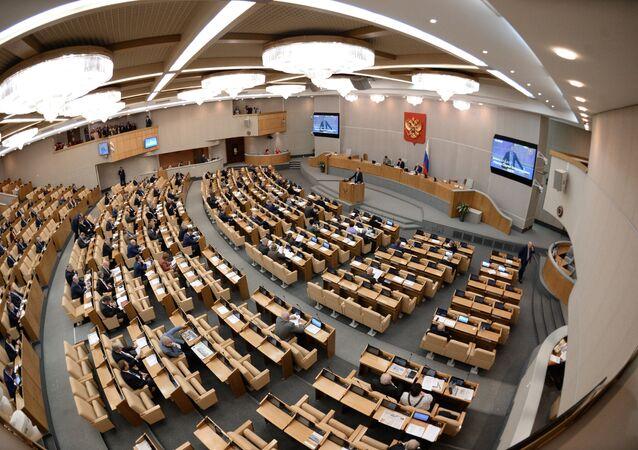 State Duma plenary session