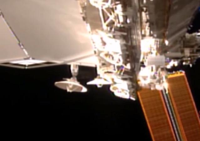 Objeto misterioso perto da estação espacial da NASA