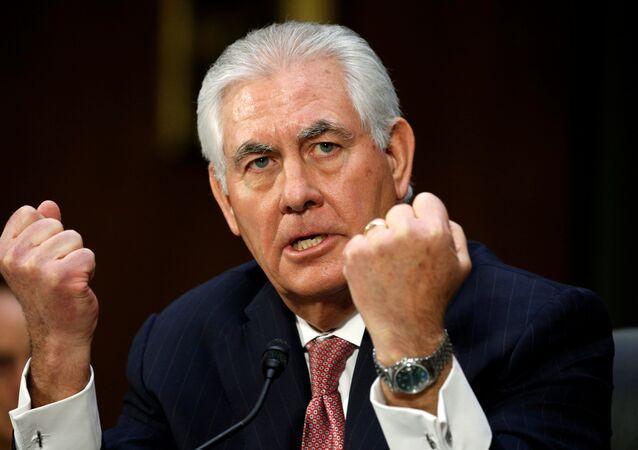 Secretário de Estado dos EUA, Rex Tillerson