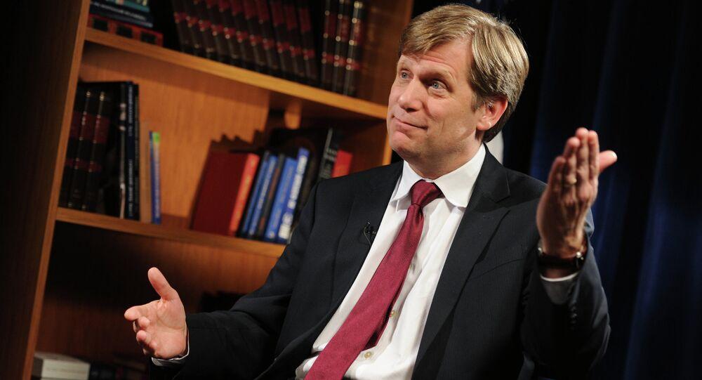 Ex-embaixador da Rússia nos EUA, Michael McFaul
