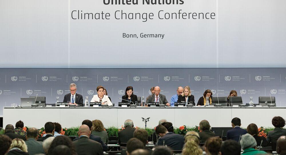 Abertura da Convenção-Quadro das Nações Unidas para as Mudanças Climáticas, Bonn (arquivo)
