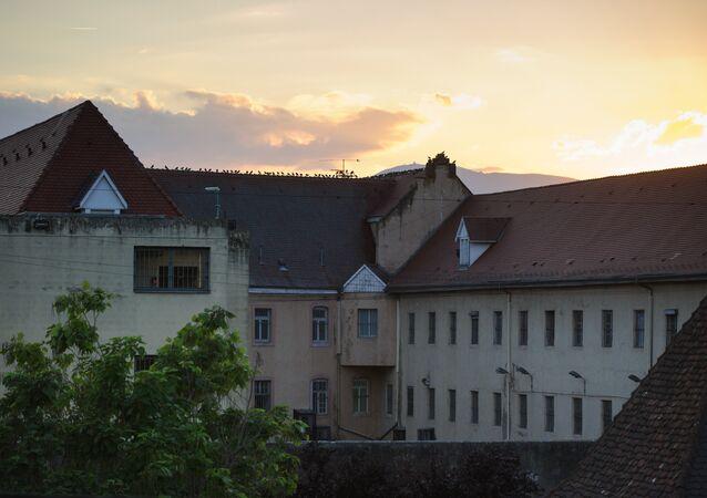 Penitenciária de Ensisheim, no departamento do Alto Reno, na Alsácia