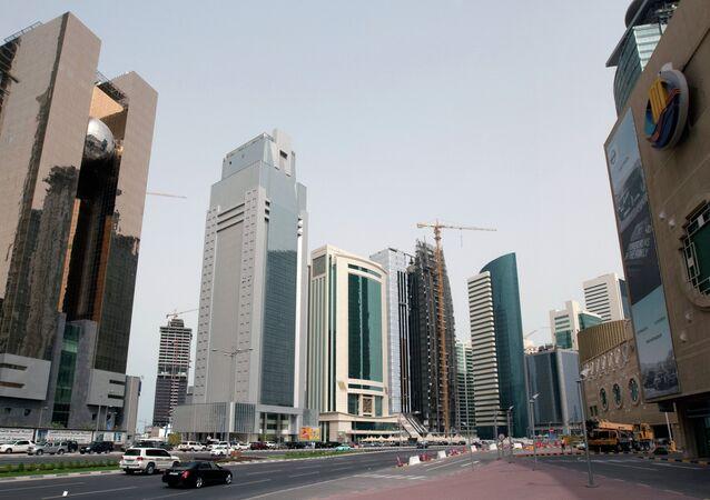 A capital do Qatar, Doha