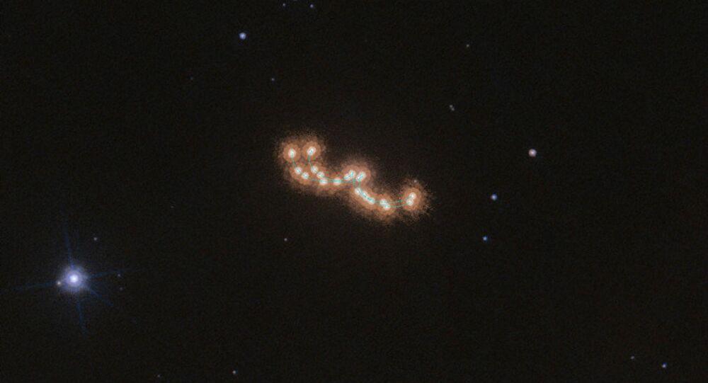 O sistema Luhman 16AB, também conhecido como WISE J104915.57-531906.1