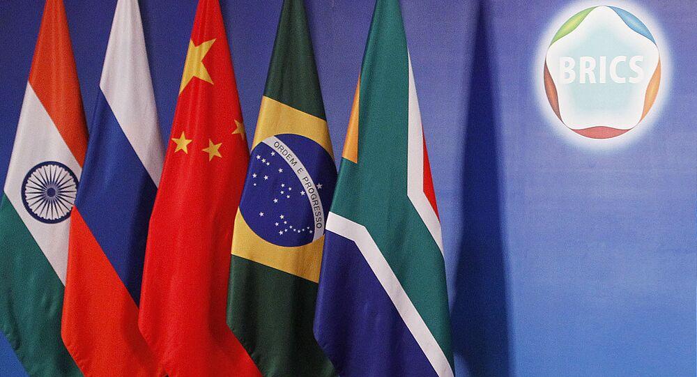 Bandeiras países BRICS
