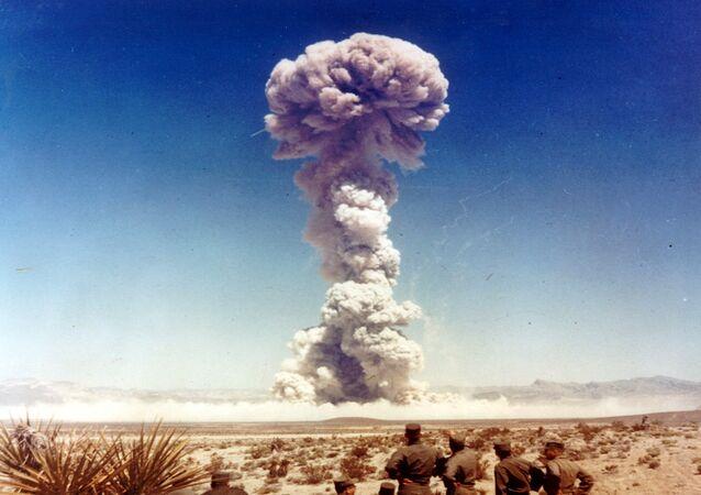 Estados Unidos (EUA) testam armas nucleares em Nevada