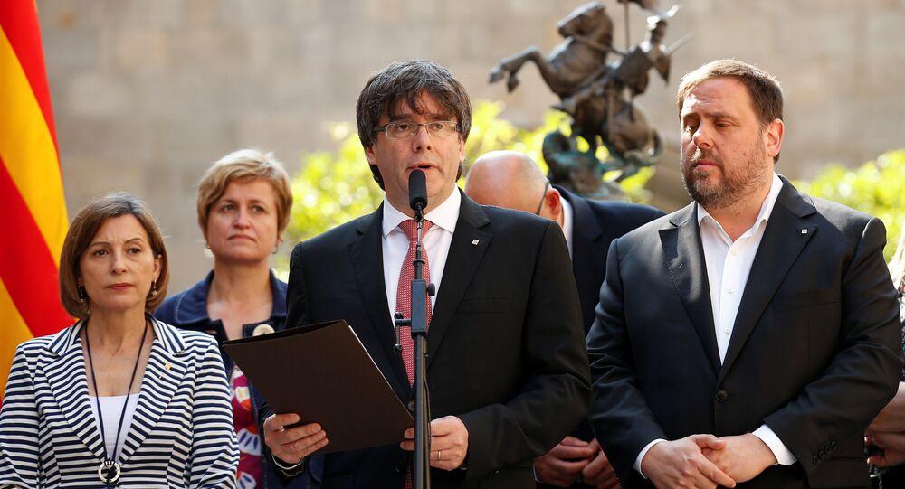 Carles Puigdemont, presidente da Catalunha