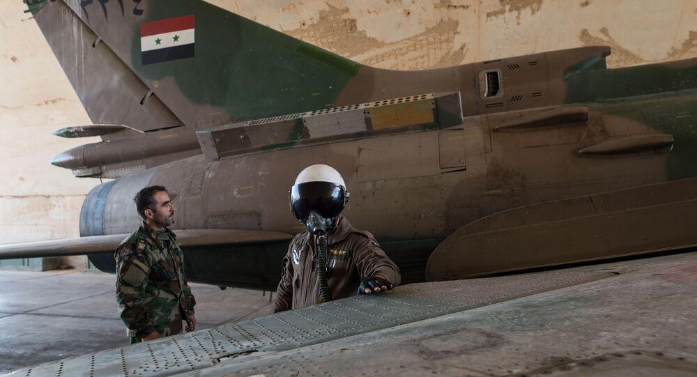 Su-22 da Força Aérea Síria, arquivo
