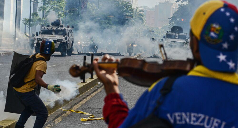As duas faces da violência na Venezuela