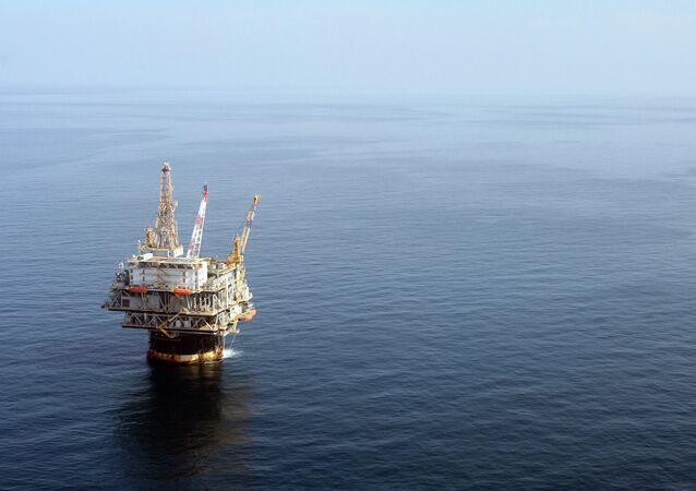 Plataforma de petróleo Genesis da Chevron