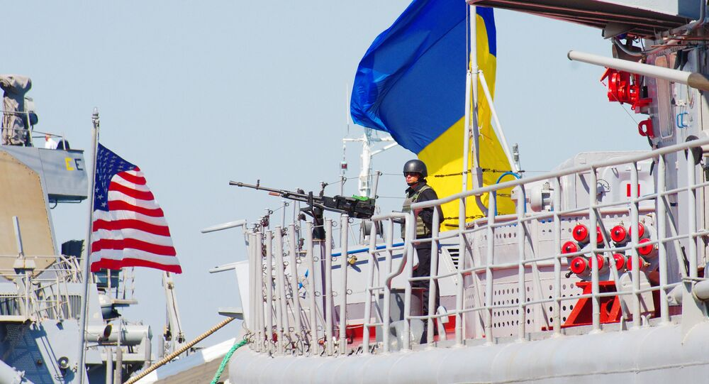 Manobras navais internacionais Sea Breeze 2017 organizados pelos EUA e Ucrânia no mar Negro (imagem referencial)