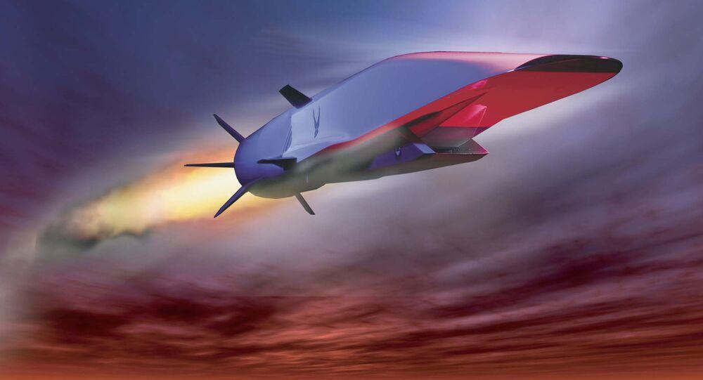 Avião hipersônico norte-americano X-51A (imagem referencial)