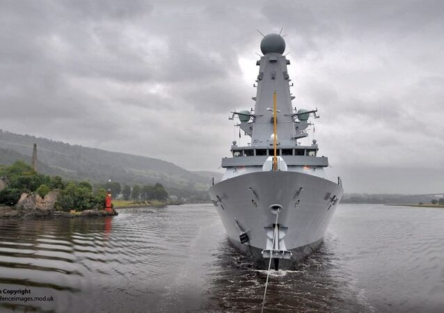 Destróier HMS Duncan, foto de arquivo
