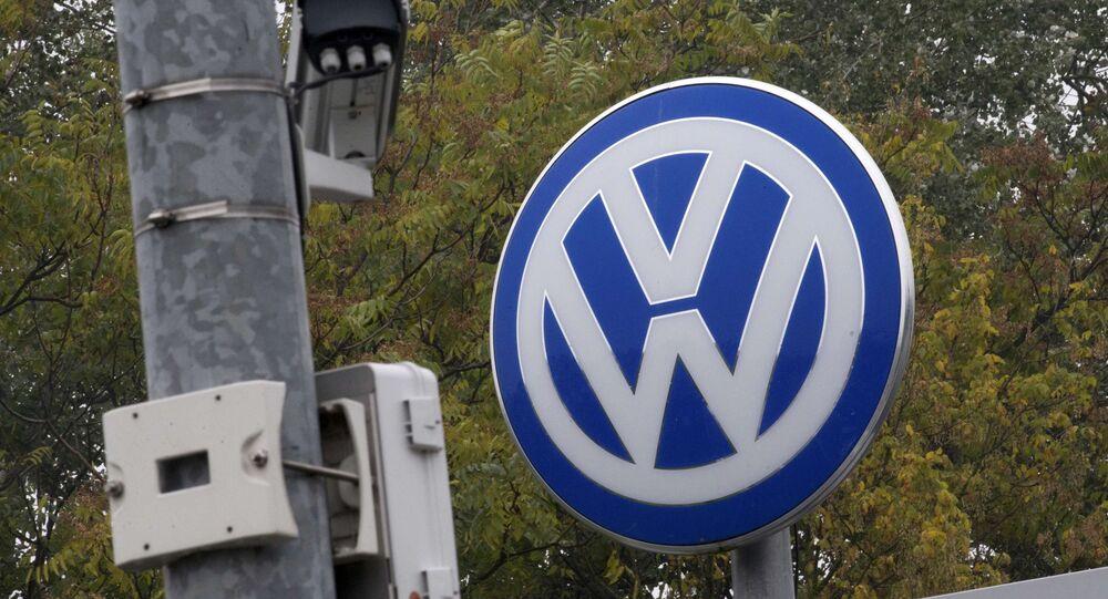 O logotipo da Volkswagen (foto de arquivo)