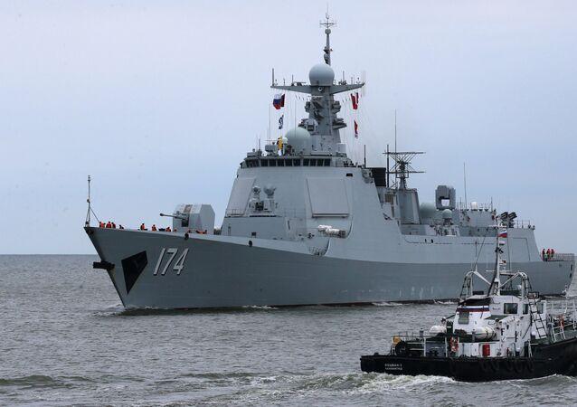Destróier Hefei da classe 052D da Marinha chinesa (imagem referencial)