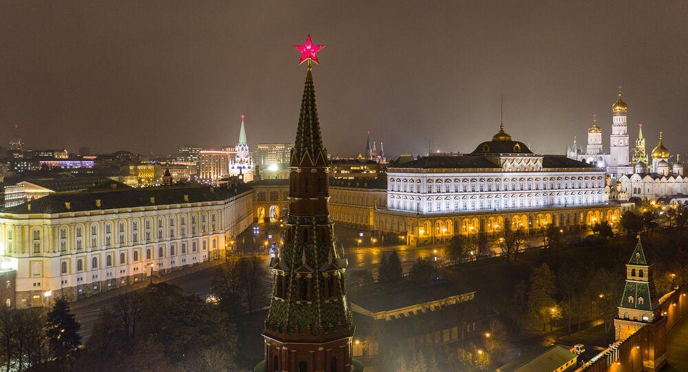 O Kremlin de Moscou
