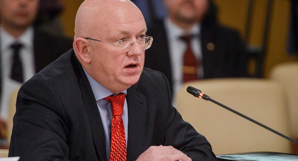 Vasily Nebenzya, novo embaixador russo na ONU