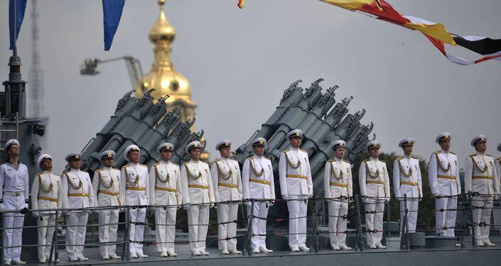 O Desfile Naval Principal da Marinha da Rússia, 30 de julho de 2017