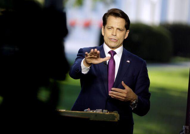 Ex-diretor de comunicações da Casa Branca, Anthony Scaramucci