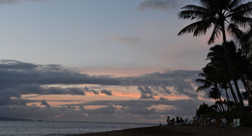 Vista do Havaí, estado norte-americano