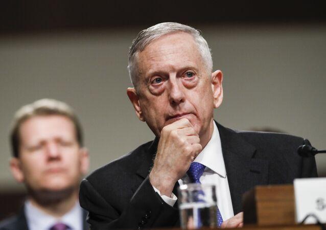 Chefe do Pentágono, James Mattis