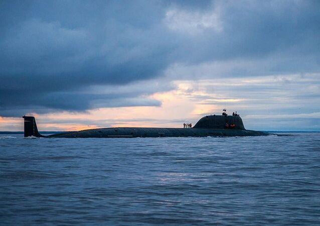 Submarino nuclear russo do projeto Yase
