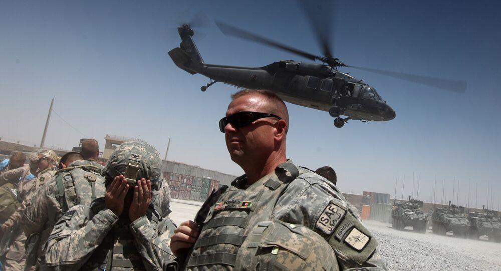 Contingente militar dos EUA no Afeganistão