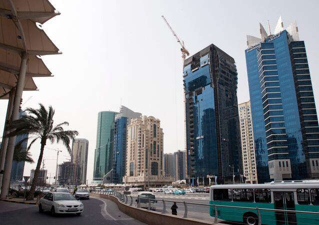 Doha, capital do Qatar (foto de arquivo)