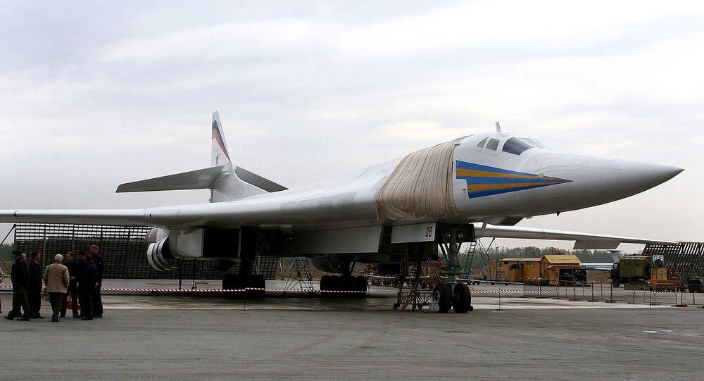 Novo bombardeiro estratégico Tu-160 Blackjack