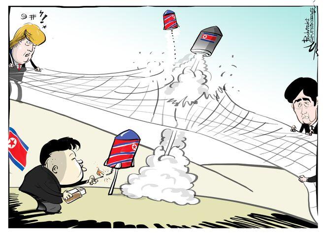 Quanto você se diverte lançando mísseis e não se importa com sanções