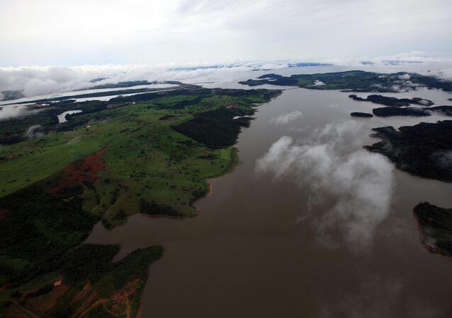 Floresta Amazônica em Tucuruí, no Pará