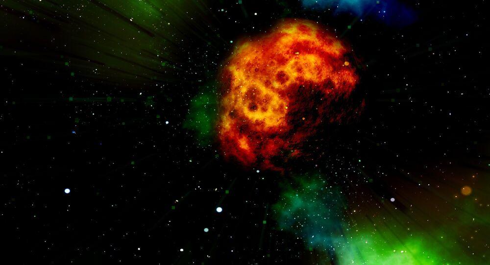 Asteroide (imagem referencial)