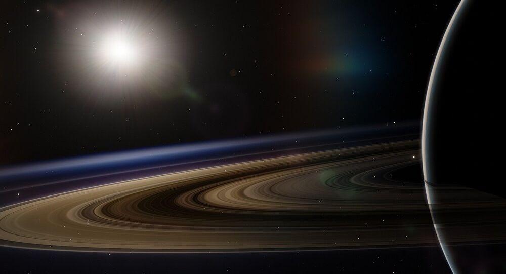 Vista de Saturno