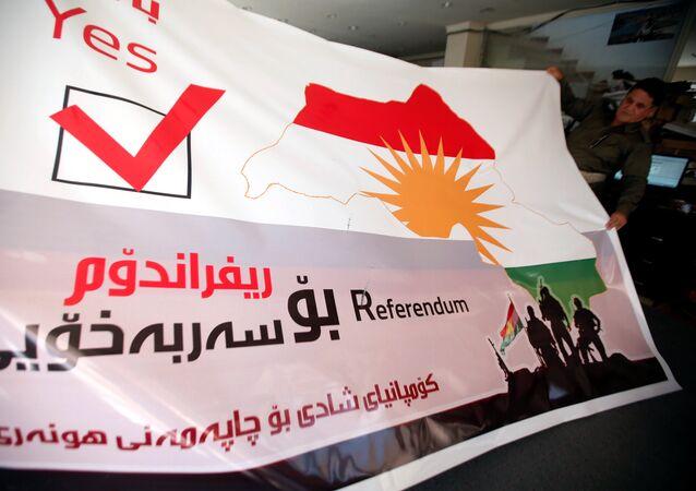 Preparativos para o referendo sobre a independência no Curdistão iraquiano
