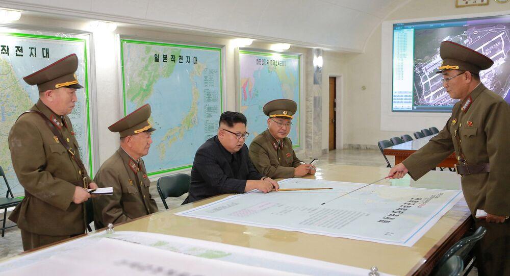 Segundo especialistas norte-americanos, o mapa de Guam, projetado na parede, estaria desatualizado