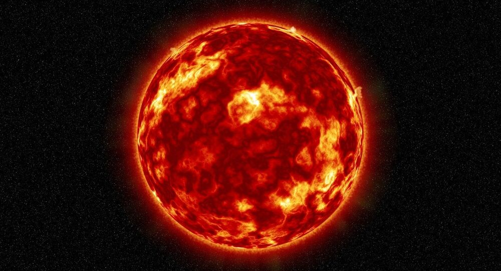 O Sol, estrela do nosso Sistema Solar