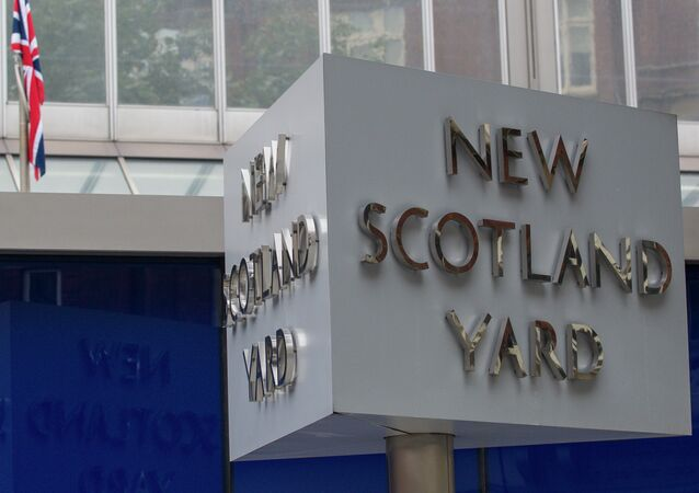 Sede da Polícia Metropolitana do Reino Unido, também conhecida como Scotland Yard, no centro de Londres (foto de arquivo)