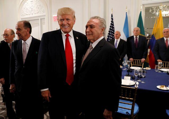 Trump e Temer