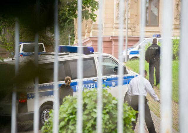 Polícia alemã.
