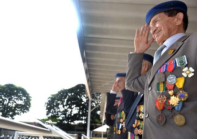 Solenidade em Comemoração aos 70 anos da tomada de Monte Castelo, na segunda Guerra Mundial