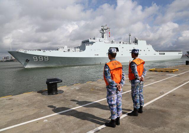 Base militar da China em Djibuti (imagem referencial)