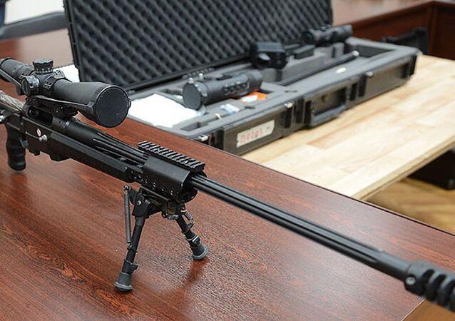 Rifle russo Sniper Tochnost
