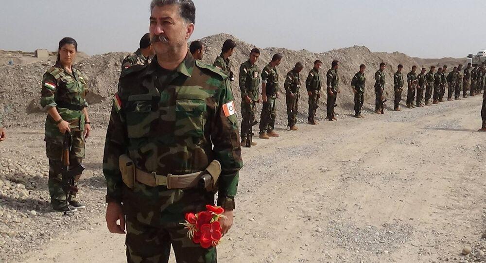 Hussein Yazdanpanah, líder das tropas peshmerga