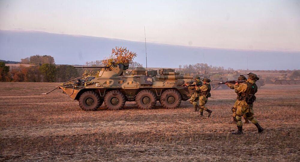 Exercícios de tropas russas foram realizados em Belgorod
