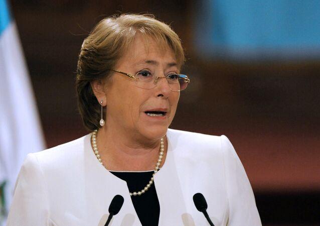 Michelle Bachelet, ex-presidente do Chile e Alta Comissária das Nações Unidas para os Direitos Humanos