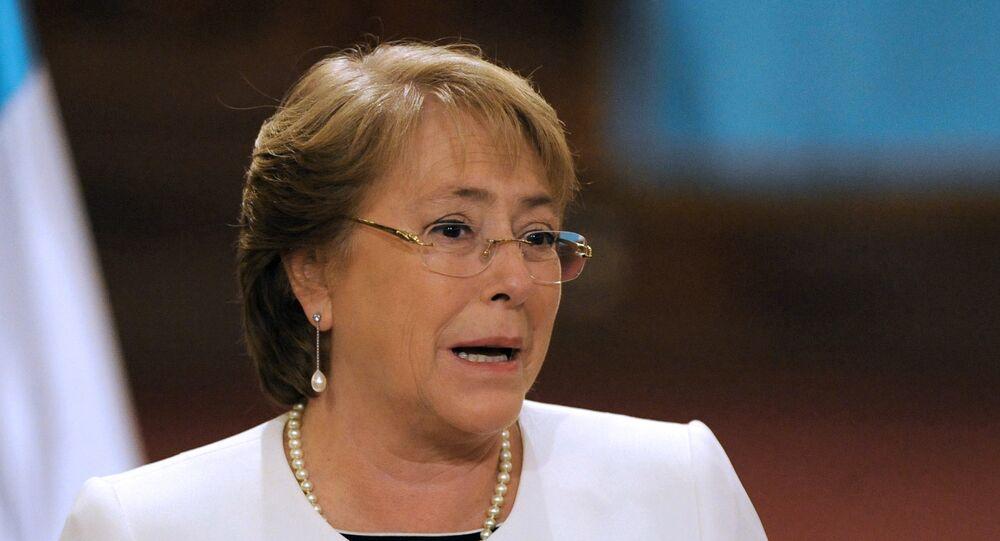 Michelle Bachelet, presidenta do Chile